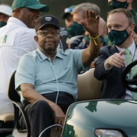 Black golf pioneer Lee Elder cherishes moment in spotlight at Masters