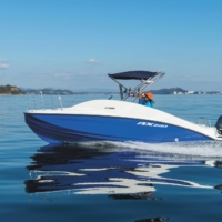 Yamaha Motor Co.'s AX220 is one of the firm's most recent pleasure boat models. | COURTESY OF YAMAHA MOTOR CO.