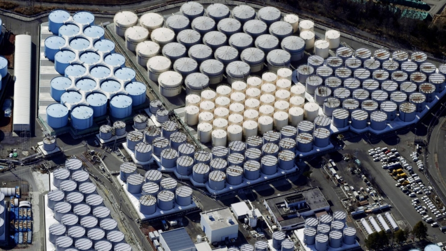 Government OKs discharge of Fukushima nuclear plant water into sea
