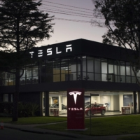A Tesla Inc. showroom and service center in Sydney | BLOOMBERG