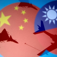 Beijing deployed 14 J-16 and four J-10 fighters, four H-6K bombers, two Y-8 anti-sub warfare planes and one KJ-500 early warning aircraft into the southwest section of Taiwan's air defense identification zone Monday, Taiwan's Ministry of National Defense has said in a statement. | REUTERS