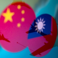 A joint statement mentioning Taiwan would be the first by a U.S. and Japanese leader since Tokyo and Washington normalized ties with Beijing. | REUTERS