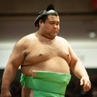 Former ozeki Takayasu has failed to live up to expectations and is yet to win a top-division title. | JOHN GUNNING