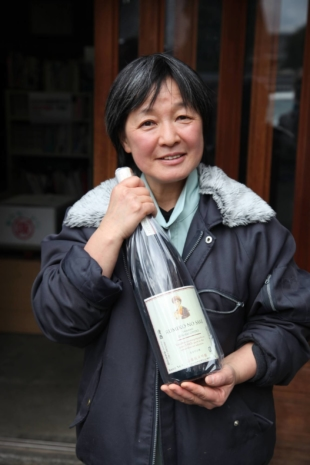Rumiko Moriki took over Moriki Shuzo brewery in Mie Prefecture after her father fell ill. | COURTESY OF BLACK MARKET SAKE