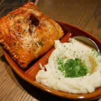 Mash Bros' menu consists mainly of flaky puff-pastry square pies stuffed with luscious amounts of filling. | PHOEBE AMOROSO
