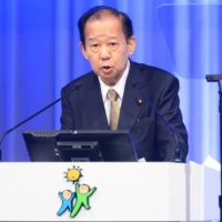 Toshihiro Nikai's remarks over a possibly Olympic cancellation came as doubt continues to shroud the Tokyo Games.  | BLOOMBERG