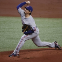 Rangers rookie Kohei Arihara gets first MLB win