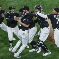 White Sox lefty Carlos Rodon tosses no-hitter against Indians