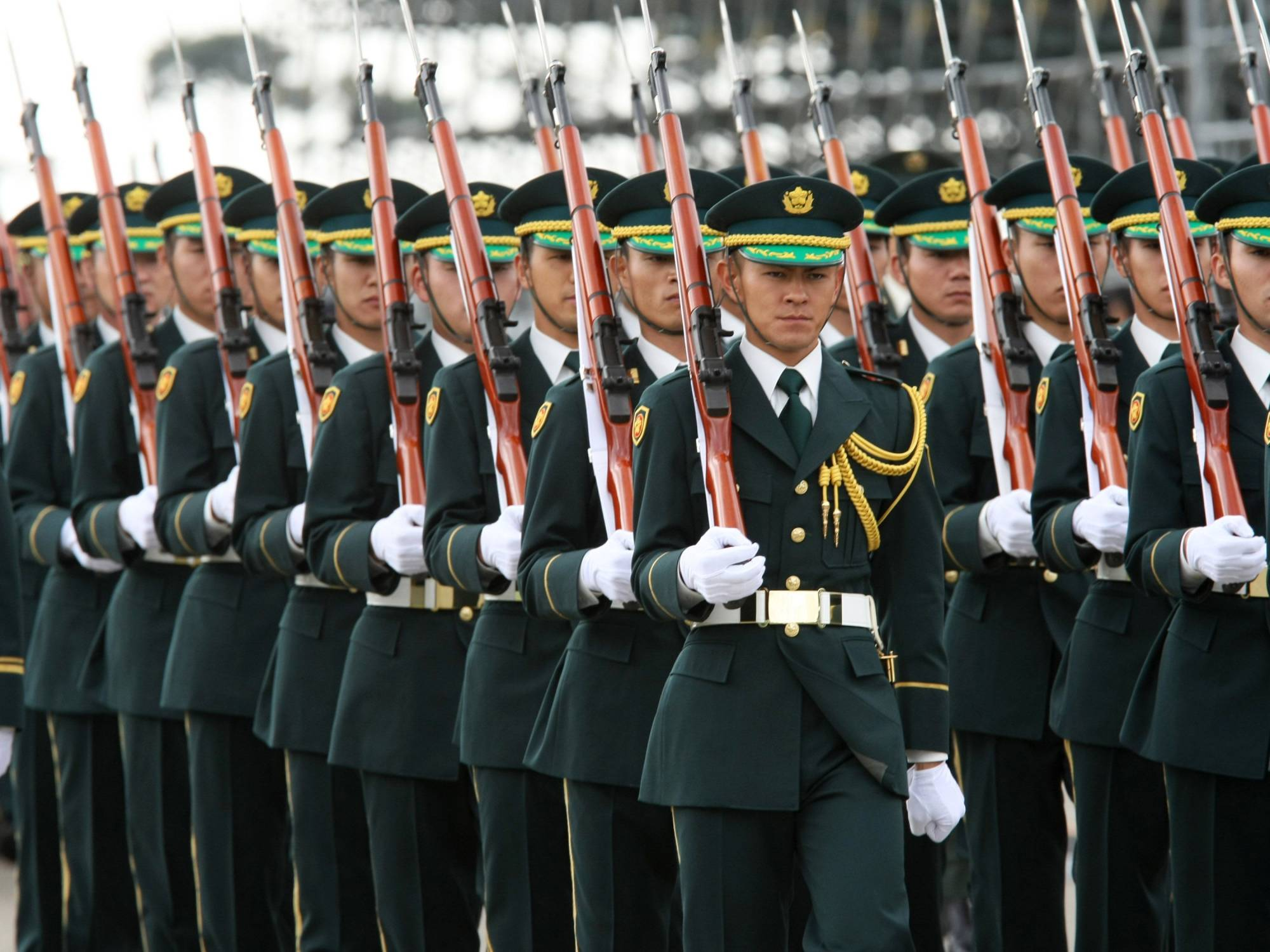 Japan has been trying to strengthen the Self-Defense Forces' abilities to defend remote islands in the face of increased maritime actions by China, especially around the Senkaku Islands. | BLOOMBERG