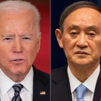 Beijing will be watching Suga-Biden talks closely