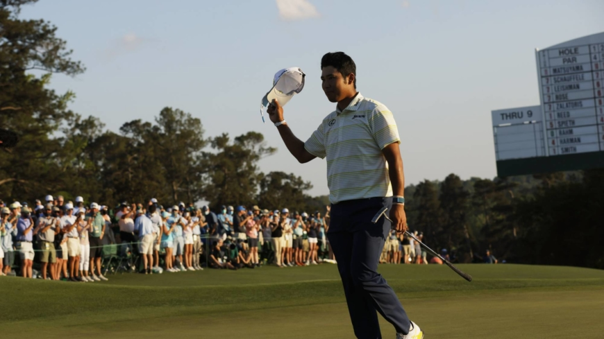 Hideki Matsuyama's Masters win a potential boost for Japan's golf industry