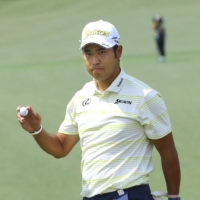 New golfers have sought out the clothing and equipment used by Hideki Matsuyama during his Masters triumph.  | KYODO