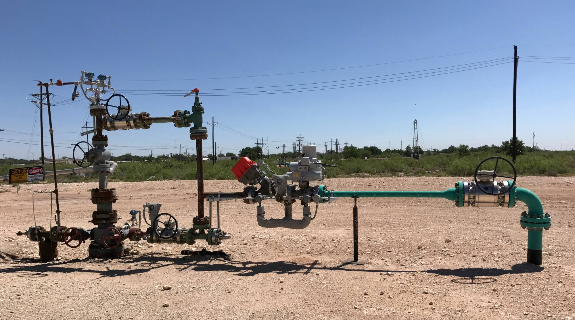 A wellhead at an Occidental Petroleum site in Hobbs, New Mexico | REUTERS