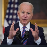 Biden will pledge to cut greenhouse gas emissions nearly in half