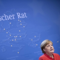 Angela Merkel's impending departure after some 16 years as German chancellor brings into play not simply the direction of Europe's biggest economy, but the balance of power on the continent.  | BLOOMBERG