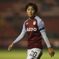 Aston Villa's Mana Iwabuchi is among the Japanese players who have recently moved overseas | REUTERS