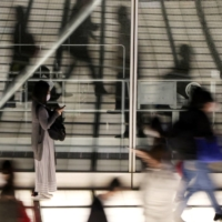 Employees working from places other than their regular offices, including homes, accounted for 19.2% of all workers in Japan this month, a survey by the Japan Productivity Center found. | REUTERS