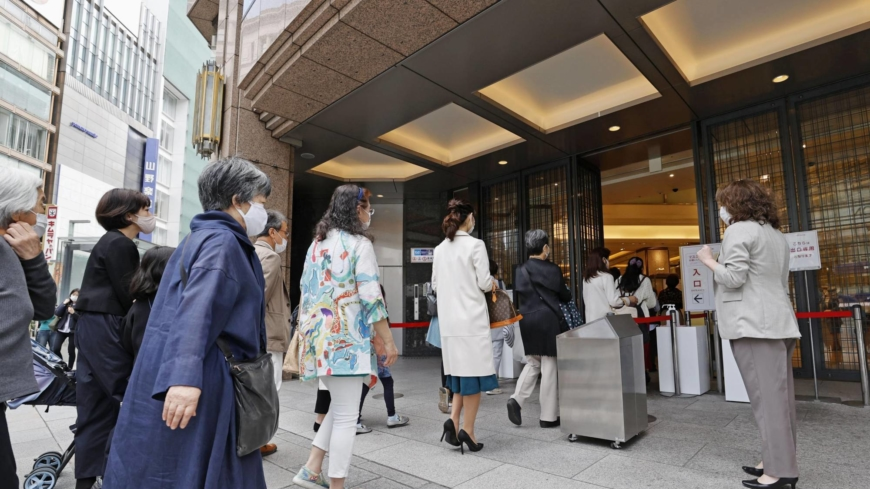 No holiday mood as Japan virus emergency set to hit tourism and shopping hard