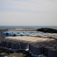 Storage tanks for treated water at the Fukushima No. 1 nuclear power plant in the town of Okuma, Fukushima Prefecture | REUTERS