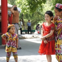 Peoples Park in Urumqi, in China's Xinjiang Uyghur Autonomous Region, in 2011 | GARY AND ANDREA DYCK / VIA AFP-JIJI