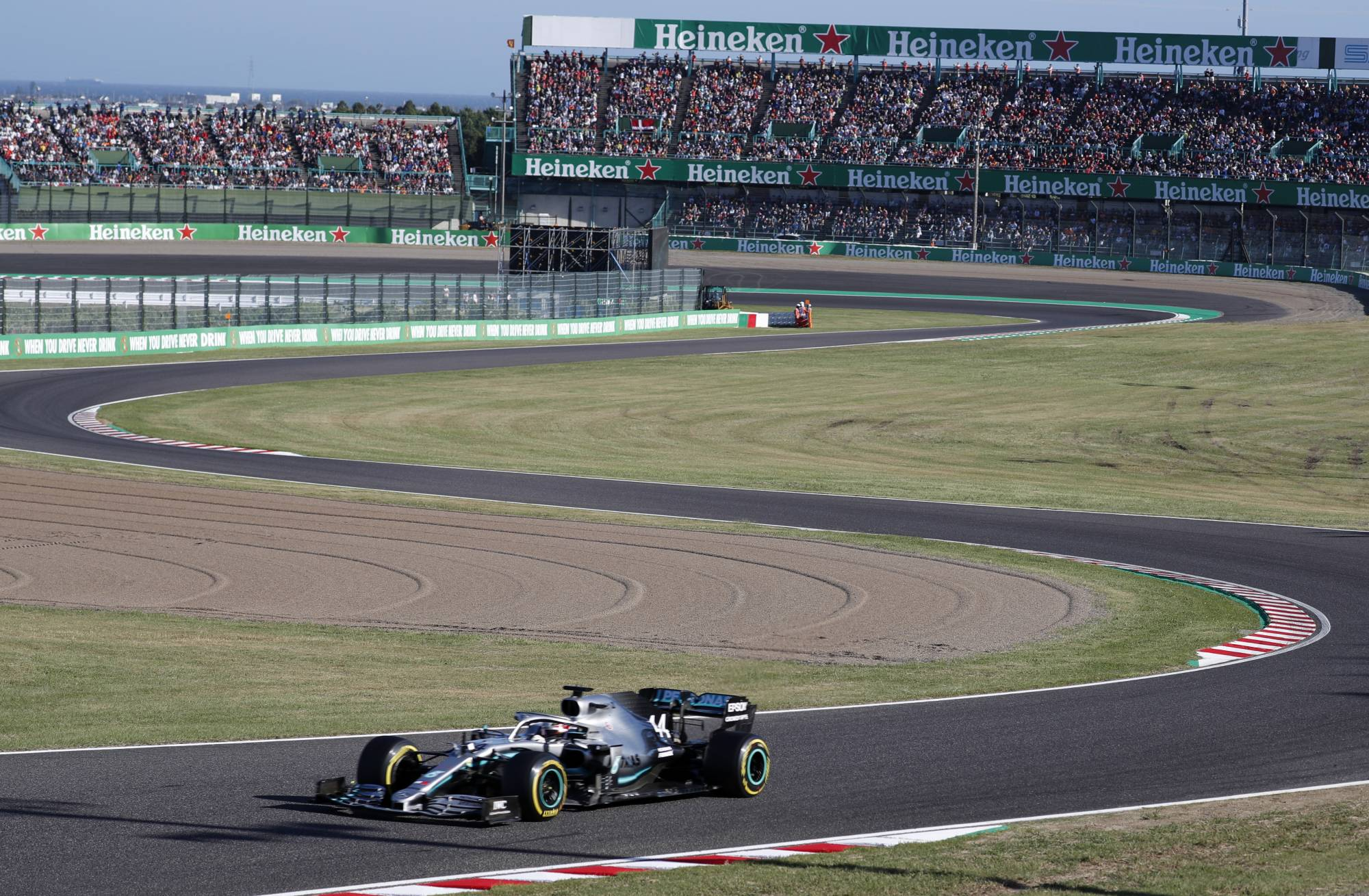 Mie Prefecture's Suzuka Circuit will continue to host Formula One races through 2024.   REUTERS