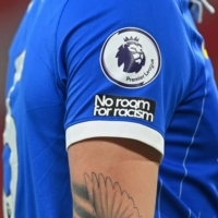 English soccer clubs and leagues will close their social media accounts next weekend in a boycott calling for social media companies to do more to combat racism on their platforms.   POOL / VIA AFP-JIJI