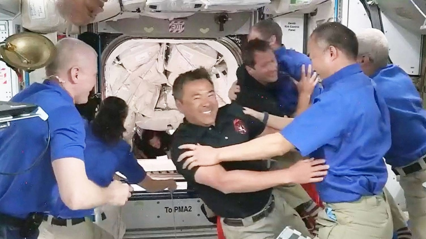 Japan's Akihiko Hoshide among new ISS crew after SpaceX launch