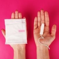 If a woman menstruates from the age of 12 to 50 for five days a month and spends ¥1,000 per month for sanitary products, the lifetime bill will reach ¥500,000 including tax, the organizer of a Japanese petition has said. | GETTY IMAGES