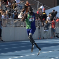 Amputee Blake Leeper won't be allowed to race with running blades