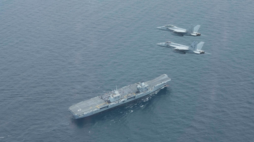British carrier's visit to Japan signals closer ties amid China tensions