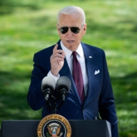 Biden talks up benefits of vaccines after new mask guidance
