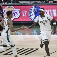 Bucks fans attending Saturday's game against the Nets at Fiserv Forum will be able to receive their first COVID-19 vaccine dose, a first for the NBA. | USA TODAY / VIA REUTERS
