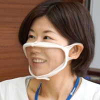 Unicharm Corp. launched see-through face masks created particularly to enable better communication with deaf people. | KYODO