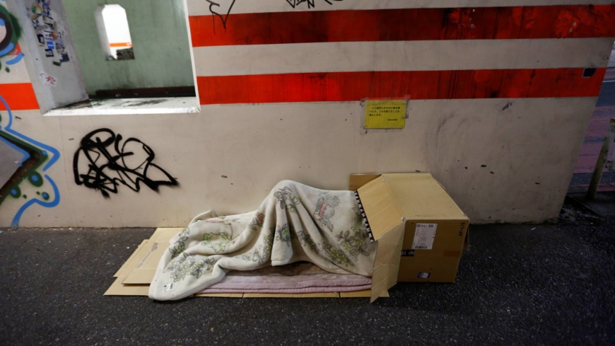 Number of homeless people in Japan hits record low