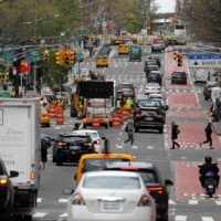 Traffic on First Avenue in Manhattan, New York City  | REUTERS
