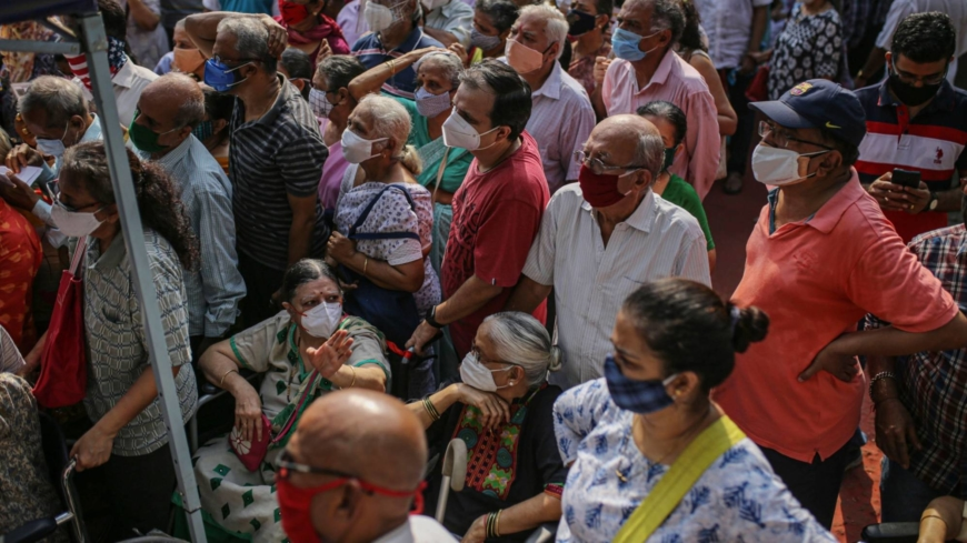 How India's vaccine push faltered and left a country in chaos