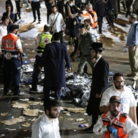 Dozens killed in stampede at religious bonfire festival in Israel