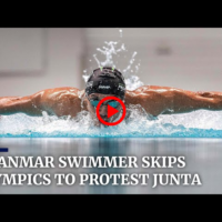 Myanmar swimmer Win Htet Oo gives up Olympic dream to protest junta violence   SOUTH CHINA MORNING POST