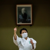 Judo judge draws strength from heading historic Japanese fireworks firm