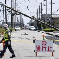 Possible tornadoes damage 92 buildings in central Japan