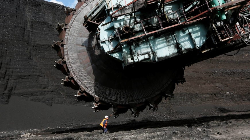 A grandiose dream to carve out a giant coal mine in frozen eastern Siberia
