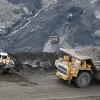 The Chernigovsky opencast colliery, outside the town of Beryozovsky in Siberia, Russia. Last summer, the Russian government approved an energy strategy that would see coal output rise from 441 million tons per year in 2019 to between 485 million tons and 668 million tons by 2035. | REUTERS