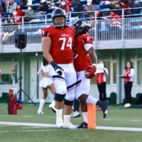 Tomoya Machino was selected by the Winnipeg Blue Bombers in the second round of the CFL Global Draft. | KAZ NAGATSUKA