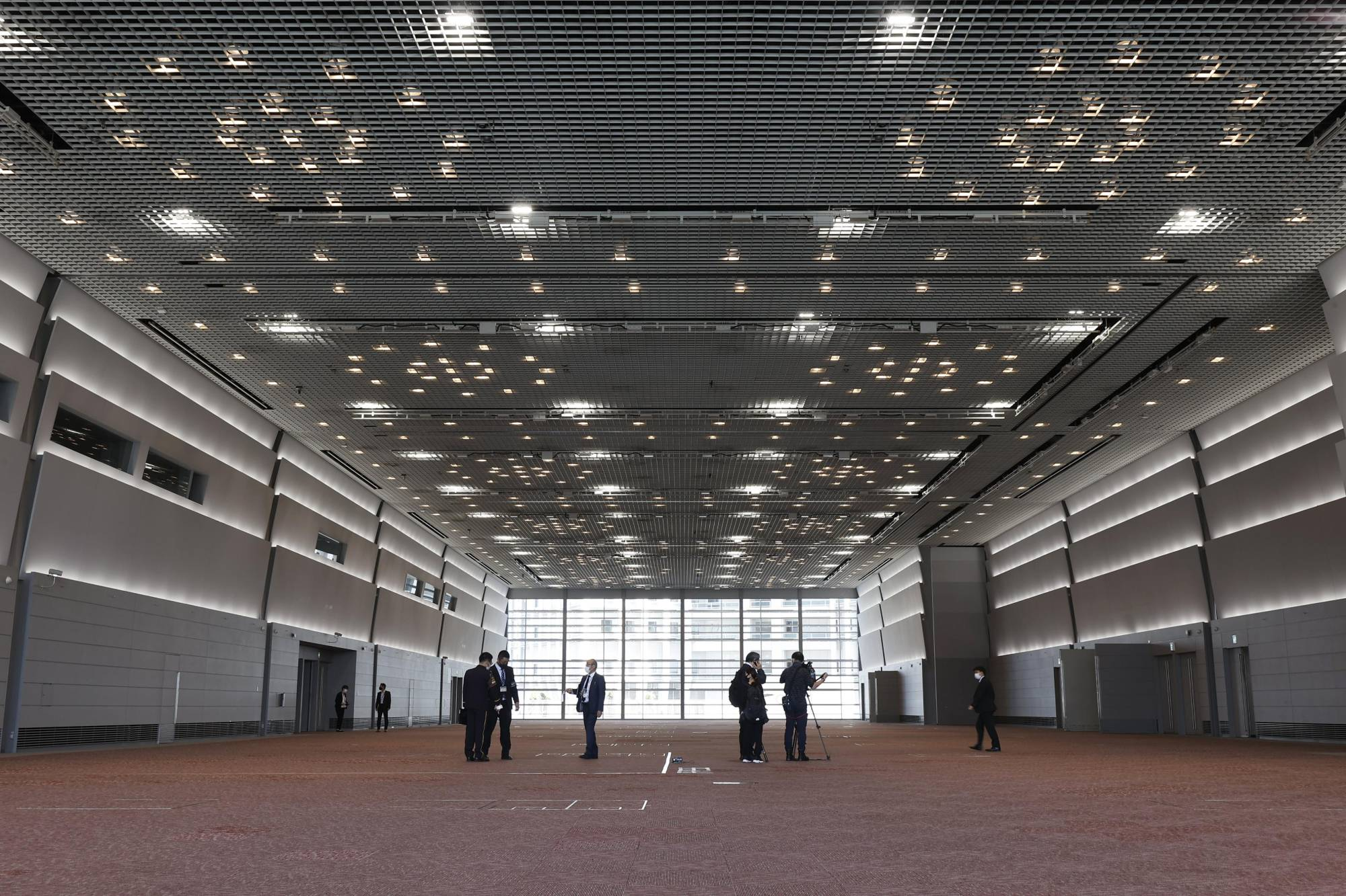 The Osaka International Convention Center has been selected as the site for the government-run mass vaccination as the country seeks to speed up its COVID-19 vaccination campaign. | KYODO