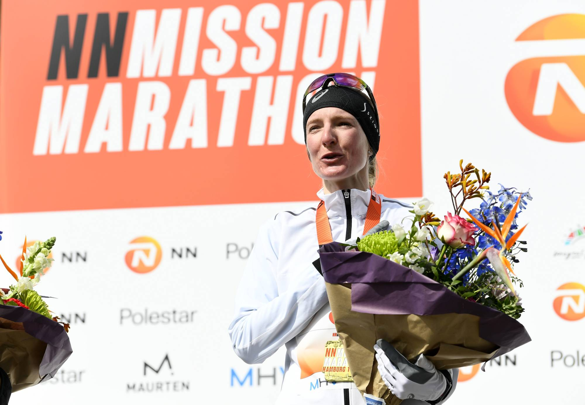 Germany's Katharina Steinruck will run in the Sapporo Marathon Festival on Wednesday. | REUTERS