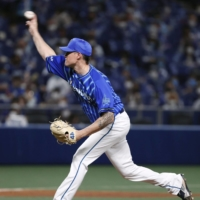 BayStars' Michael Peoples tosses six shutout innings to earn win in 2021 debut