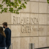 The Bill & Melinda Gates Foundation headquarters in Seattle | BLOOMBERG