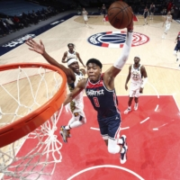Rui Hachimura scores 27 in 100th NBA game as Wizards outgun Pacers