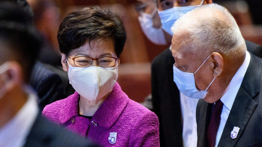 Hong Kong leader flags 'fake news' laws as worries over media freedom grow