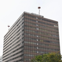 The Otemachi Common Government Building No. 3 in Tokyo's Chiyoda Ward is set to be used as a state-run mass inoculation center for coronavirus vaccinations from May 24. | KYODO